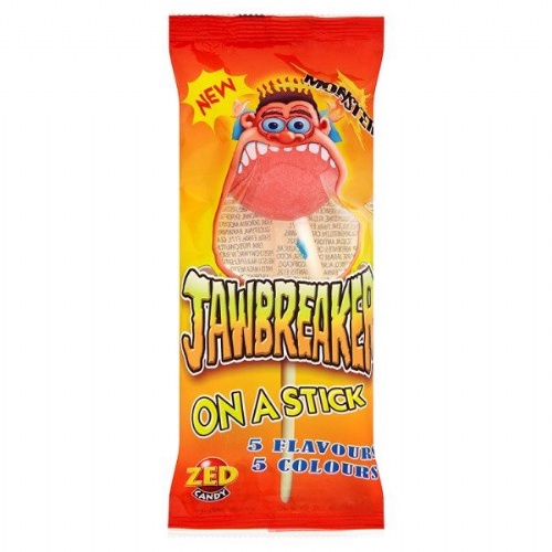 Zed Candy Monster Jawbreaker on a Stick 60g